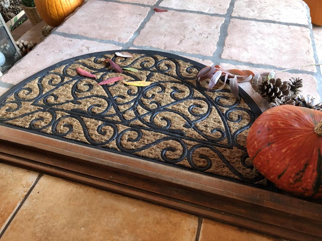 Gumi-kókusz lábtörlő 75 X 45 cm