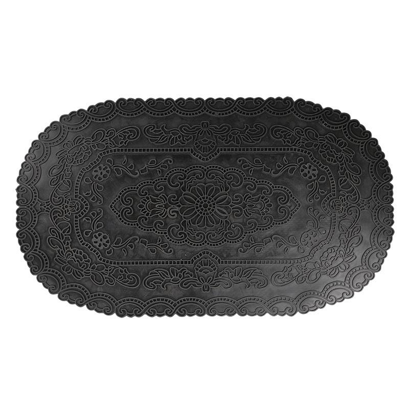 Gumi lábtörlő perzsa mintával, 75 x 44 cm