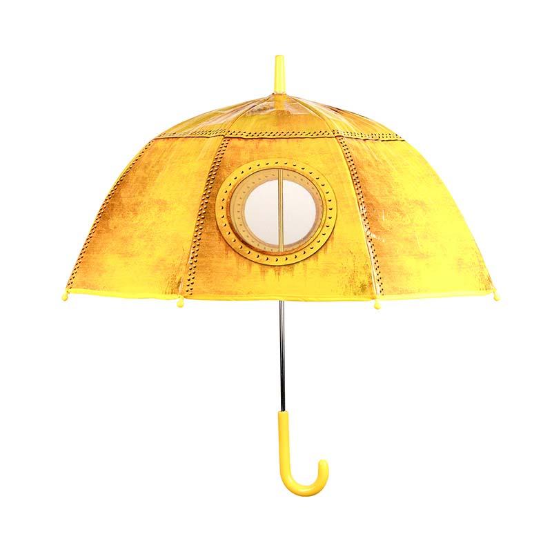 Gyerek esernyő, tengeralattjáró és repülő mintával