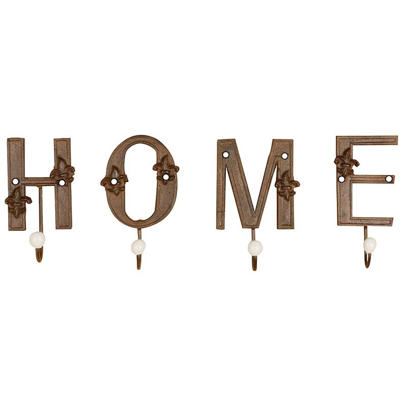 Home feliratú akasztó