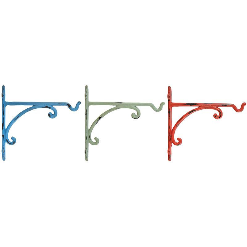 Hármas akasztós konzol, 3 színben