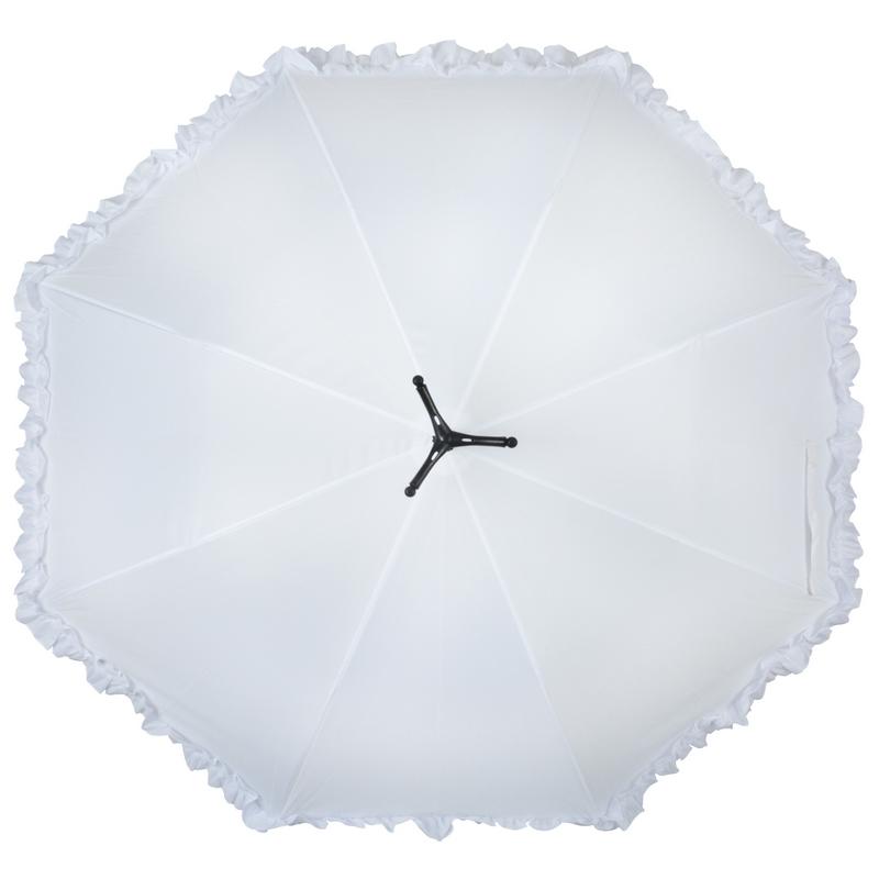 Hattyús esernyő, fodros