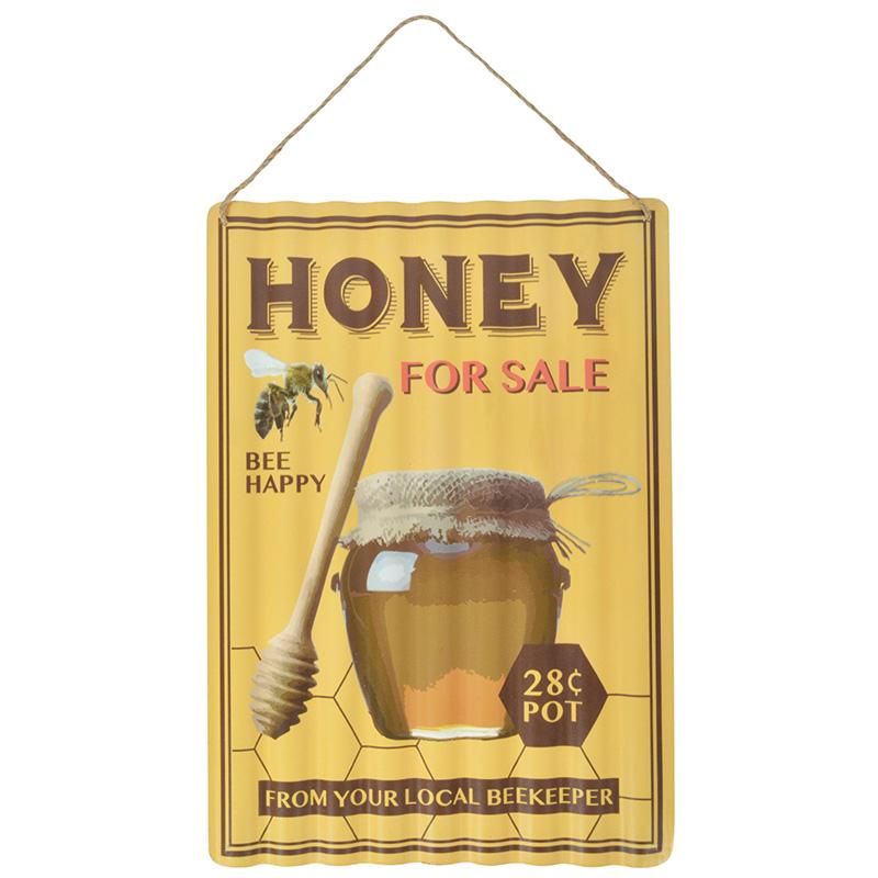 Hullámos lemeztábla, méz