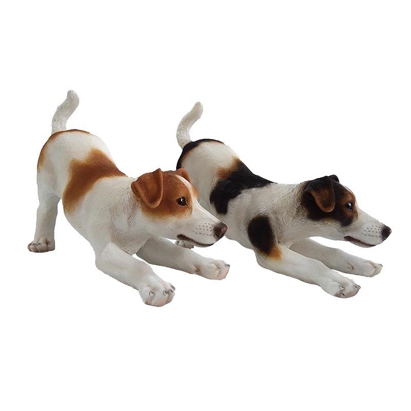 Jack Russel kutya szobor, 2 féle, M
