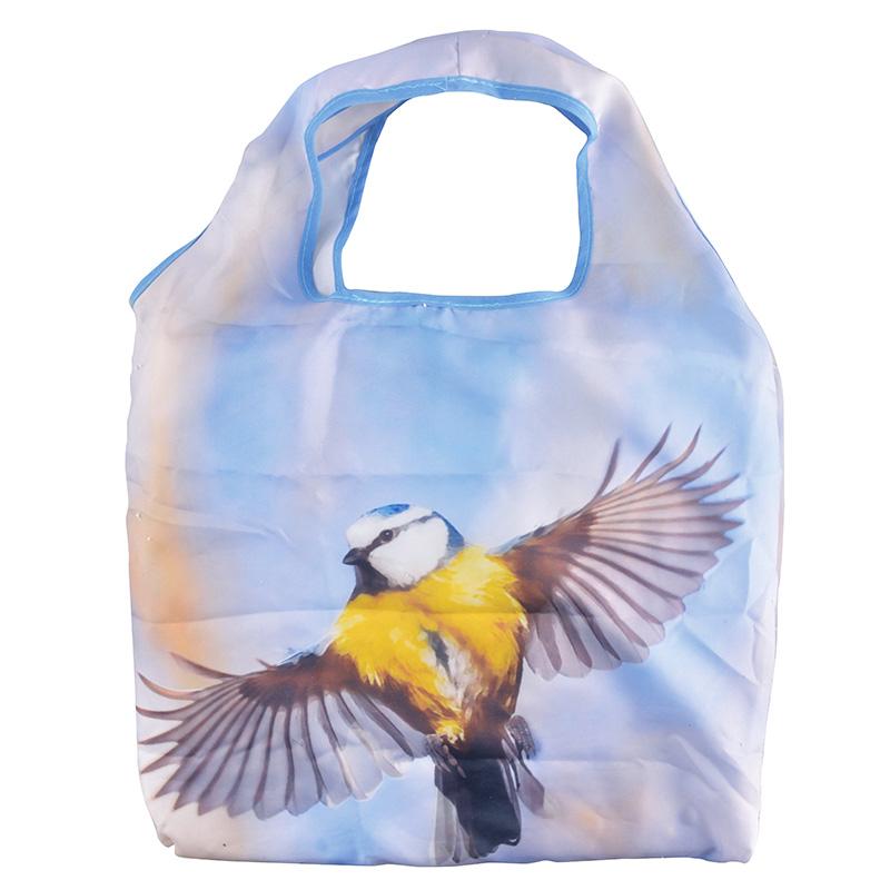 Kék cinegés táska