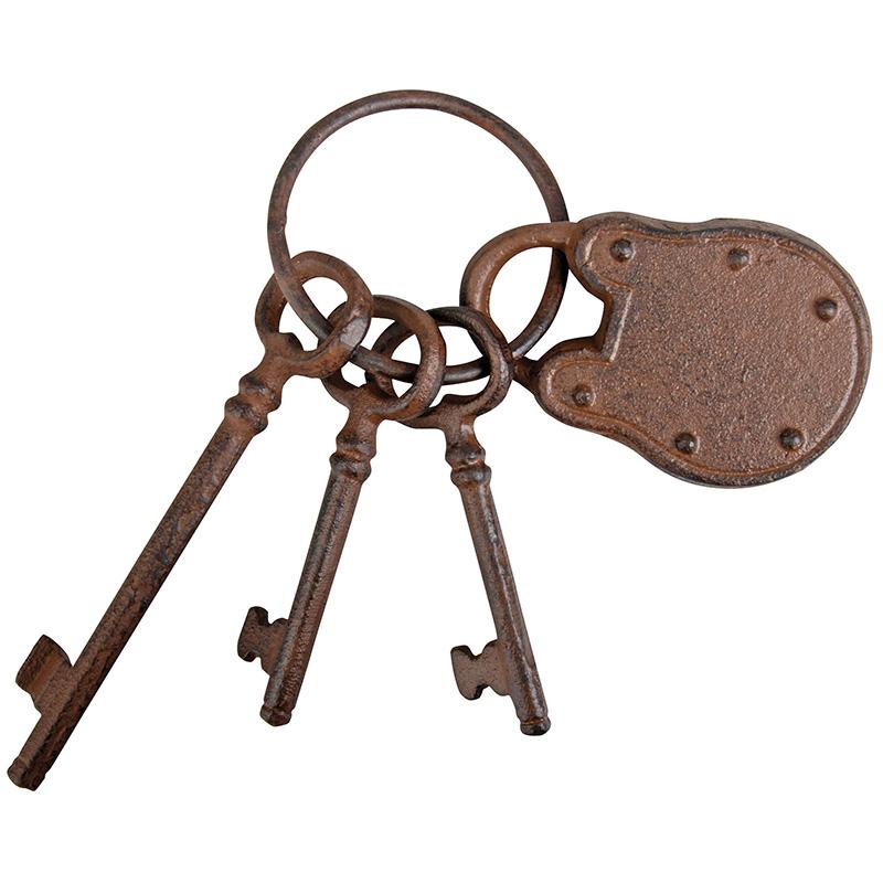 Kulcskarika dekor lakattal