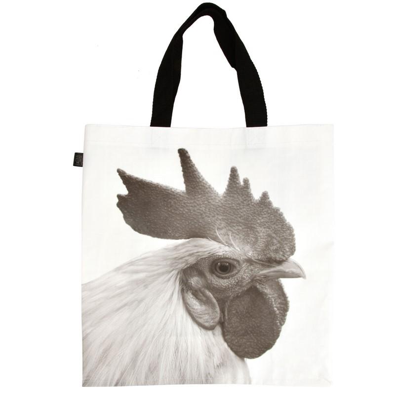 Kakasos bevásárló táska