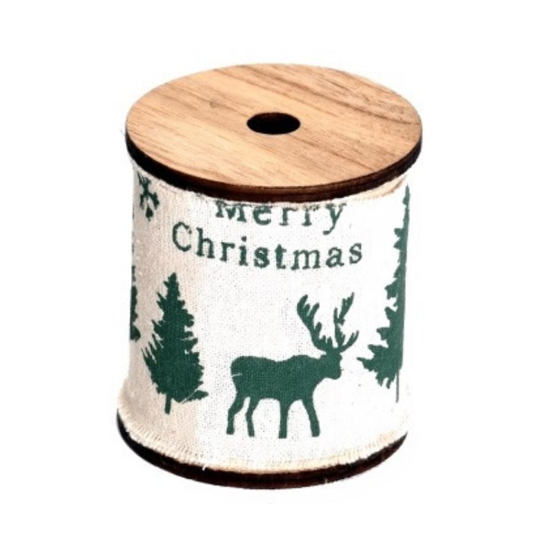 Karácsonyi mintás szalag