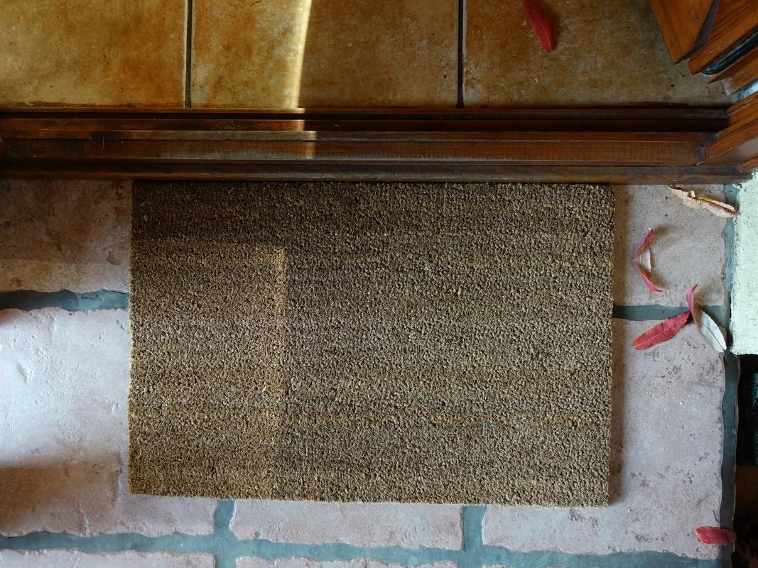 Kókuszrost lábtörlő 60 x 40 cm