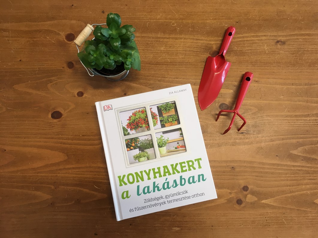 Konyhakert a lakásban könyv