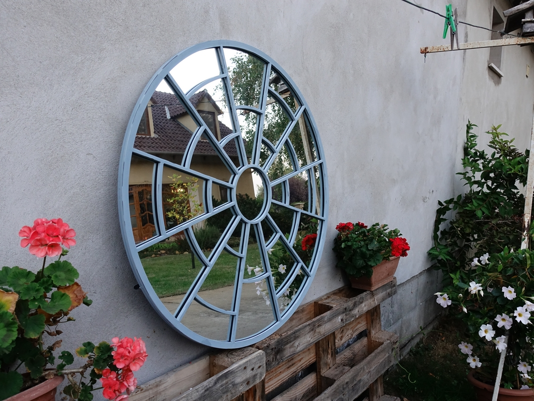 Kör alakú tükör
