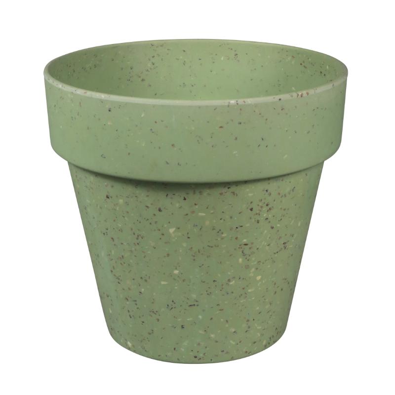 Környezetbarát virágtartó zöld színben XL