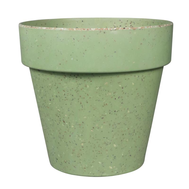 Környezetbarát virágtartó zöld színben XXL
