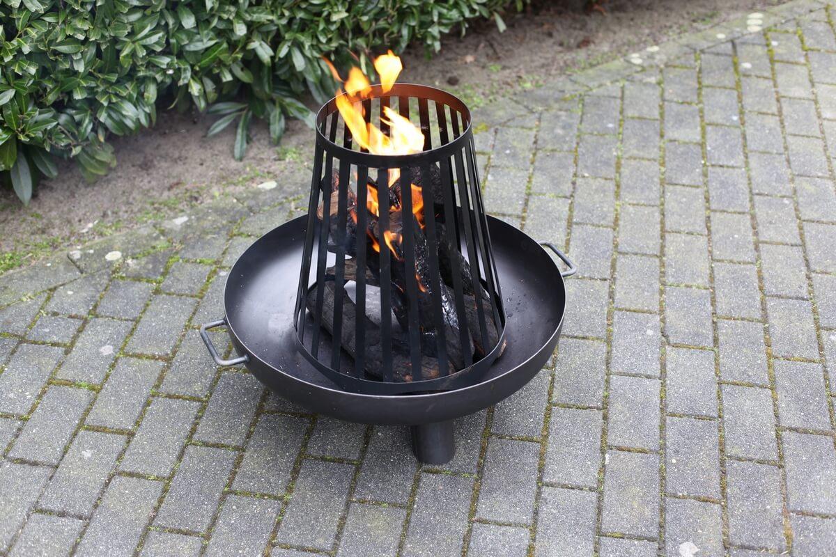 Kosár kiegészítés tűzrakó tálhoz