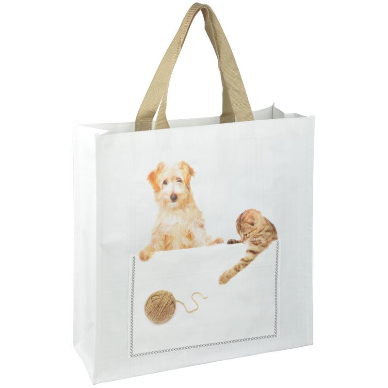 Kutyás és cicás táska