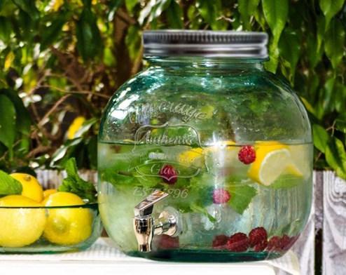 Limonádés üveg, 6 literes