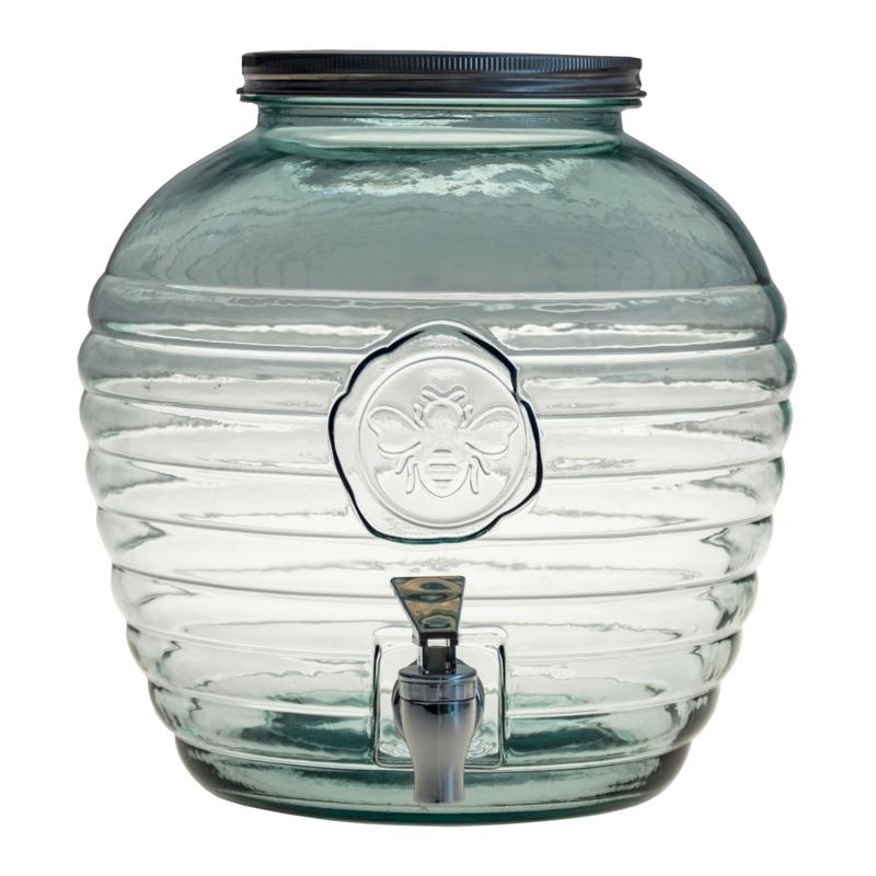Limonádés üveg, 8 literes