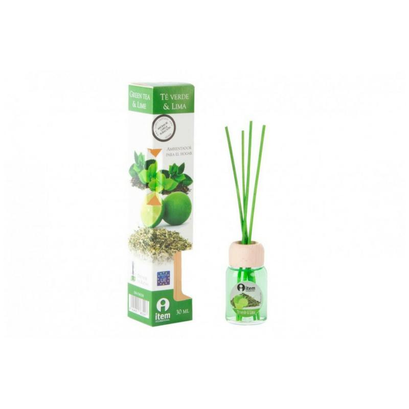 Lakásillatosító zöld tea és lime illattal