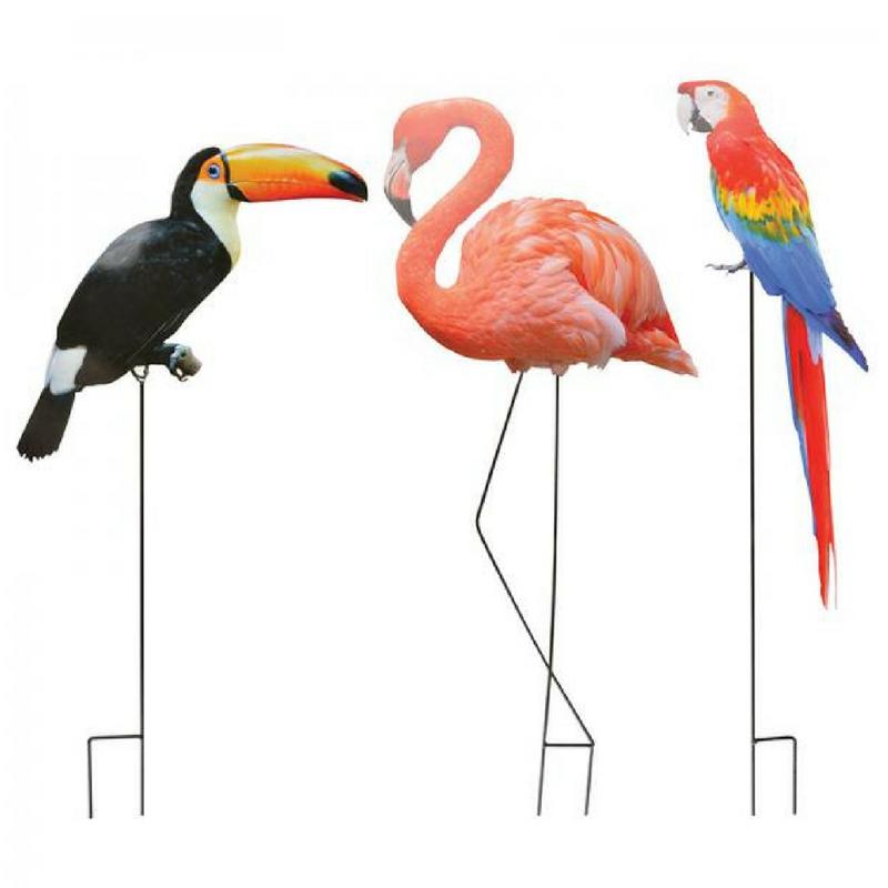 Leszúrható kerti dekoráció madarakkal