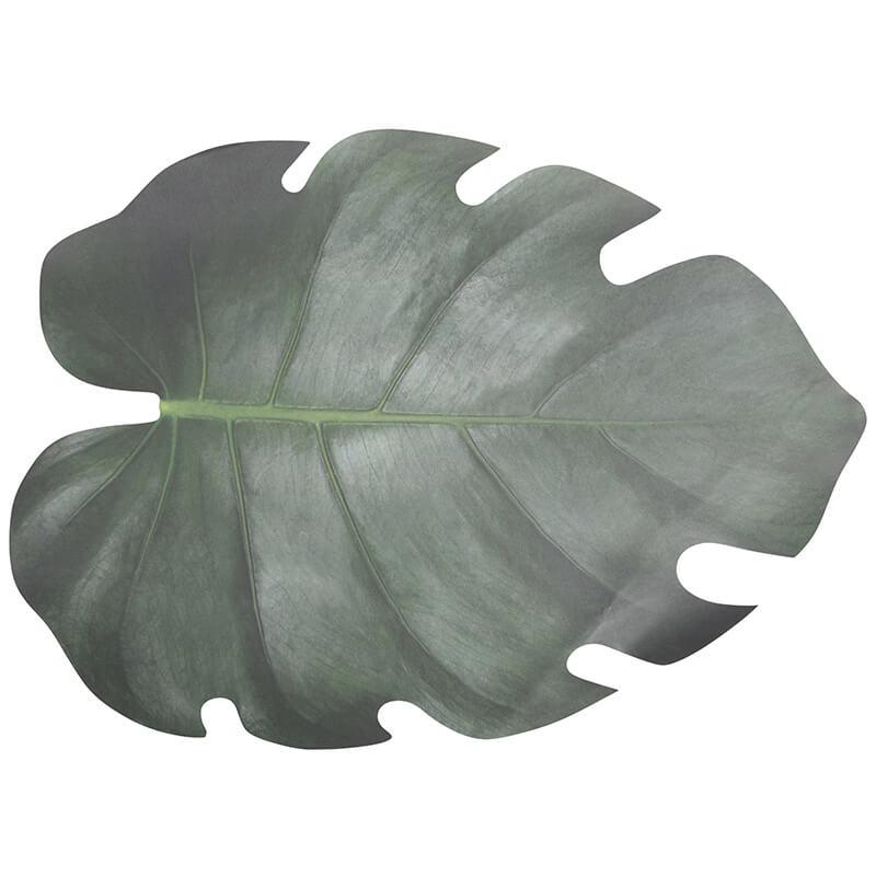 Levél formájú tányéralátét