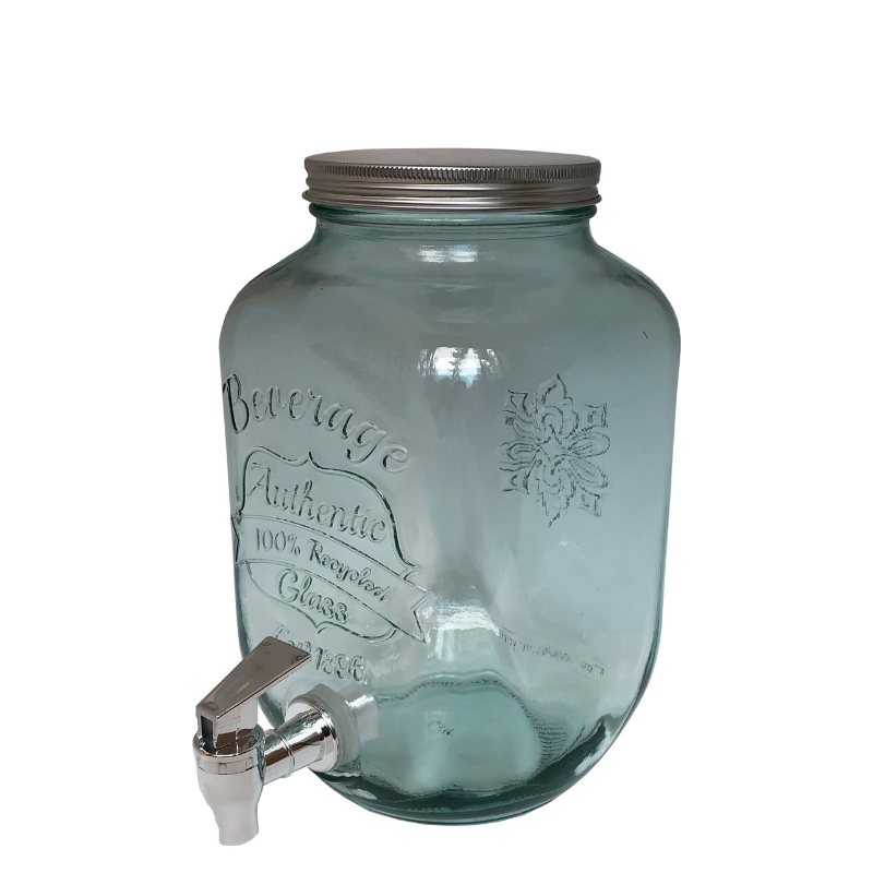 Limonádés üveg, 4 literes
