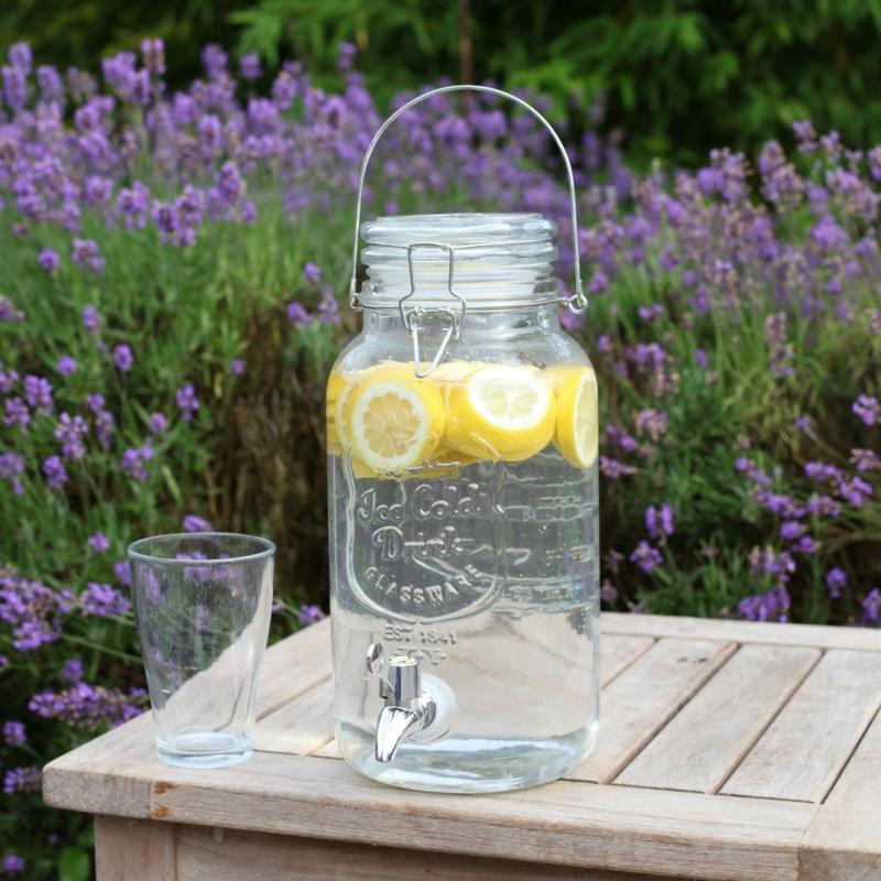 Limonádés üveg 3,5 Literes