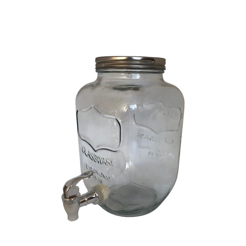 Limonádés üveg 4 literes