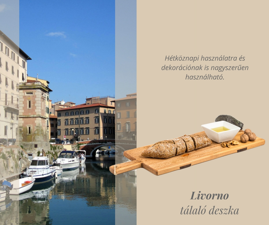 'Livorno' tálaló deszka
