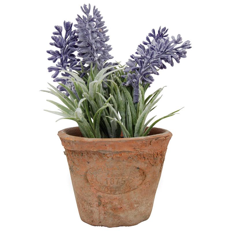 Levendula műnövény dekoráció