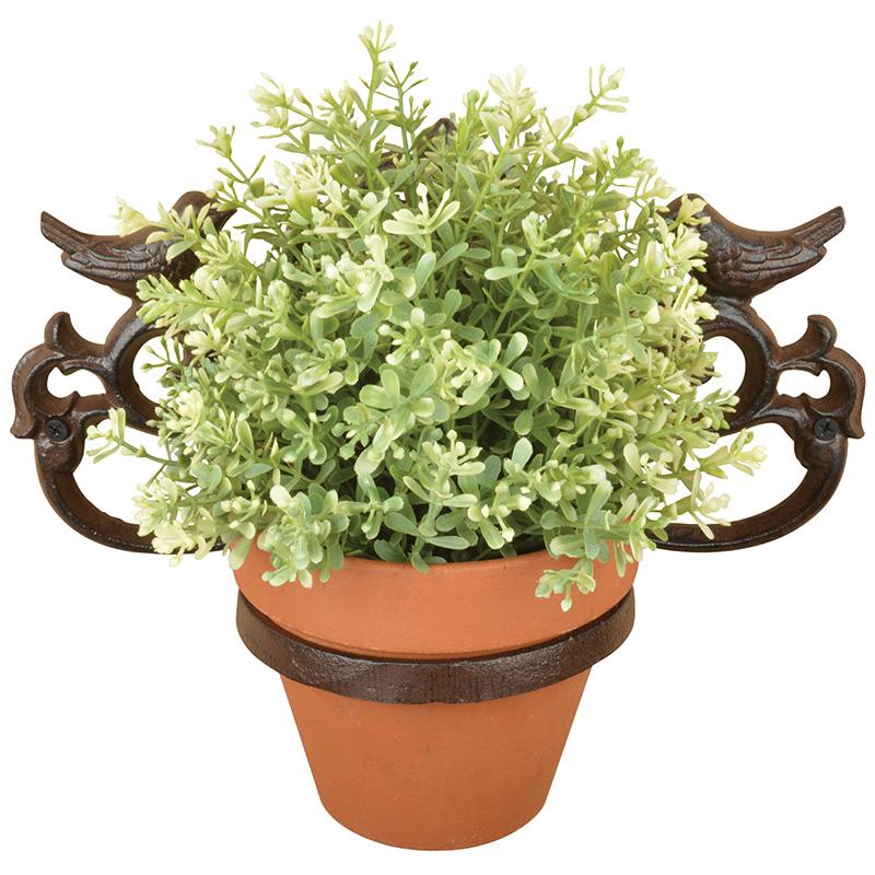Madaras fali virágtartó