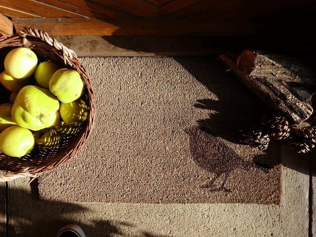Madaras lábtörlő  75 x 45 cm