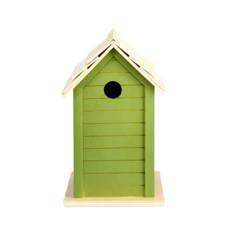 Madárház, 3 féle zöld színben