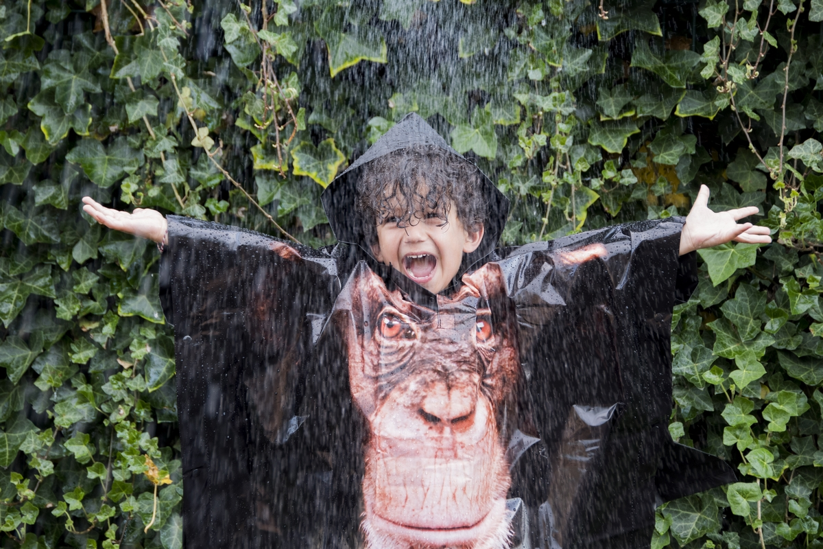 Majmos gyerek esőkabát