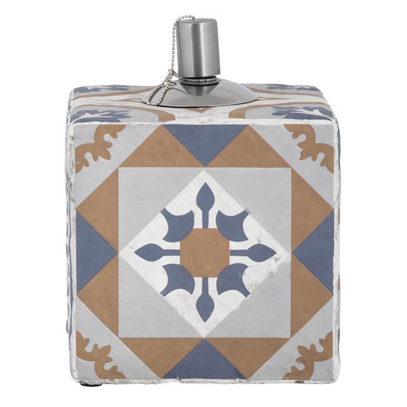 Mediterrán mozaikos olajlámpa