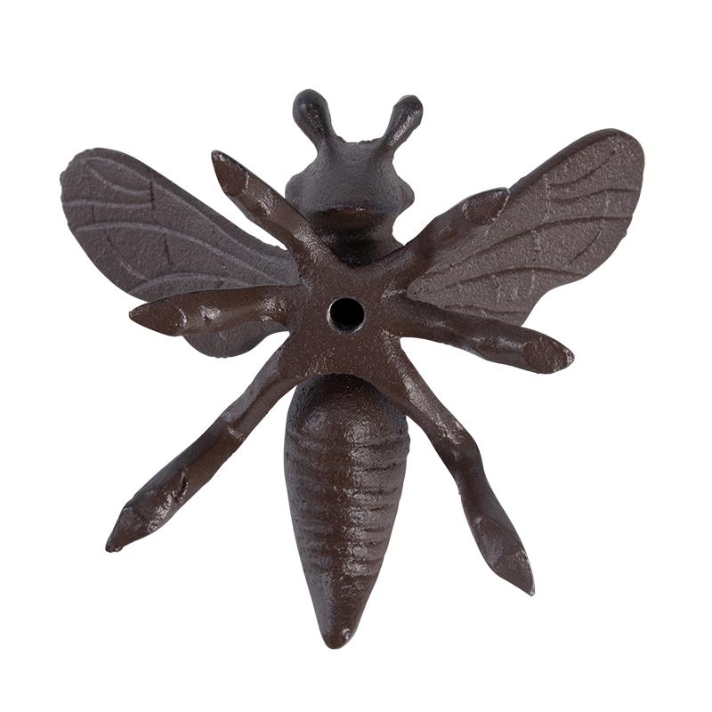Méhecske öntöttvas dekoráció