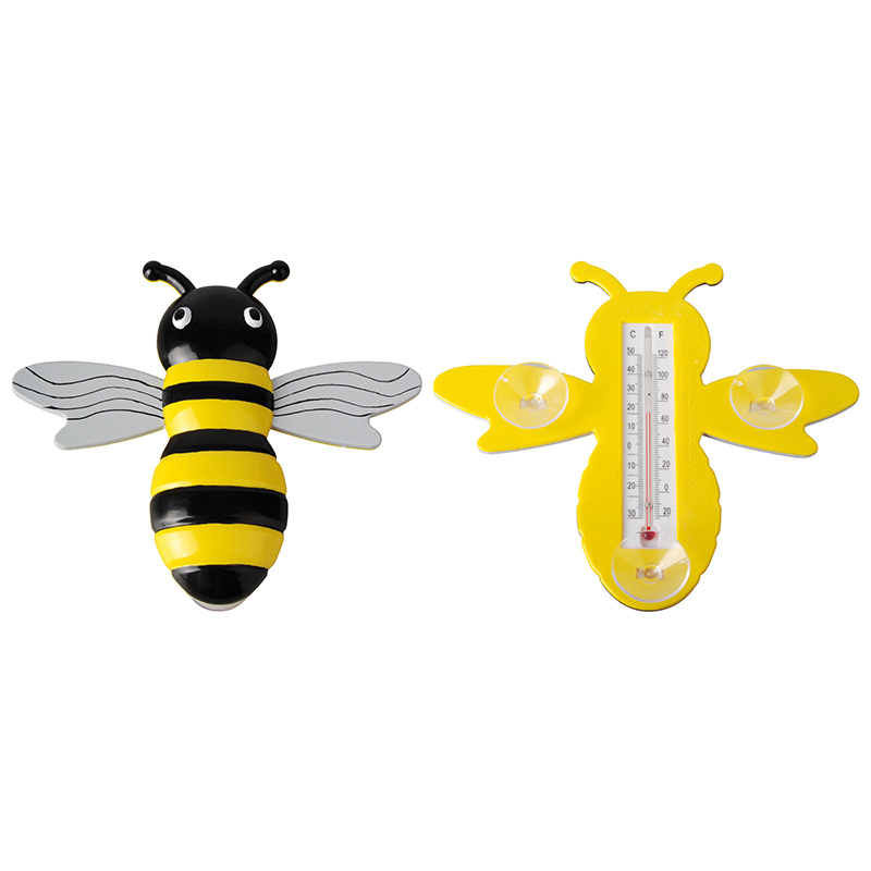 Méhecskés hőmérő