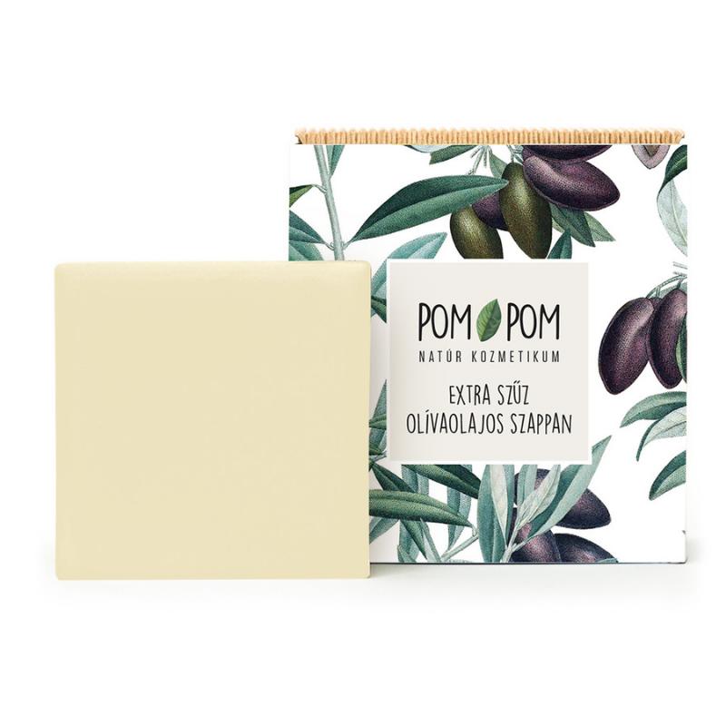 Extra szűz olívaolajos szappan, Pom-Pom