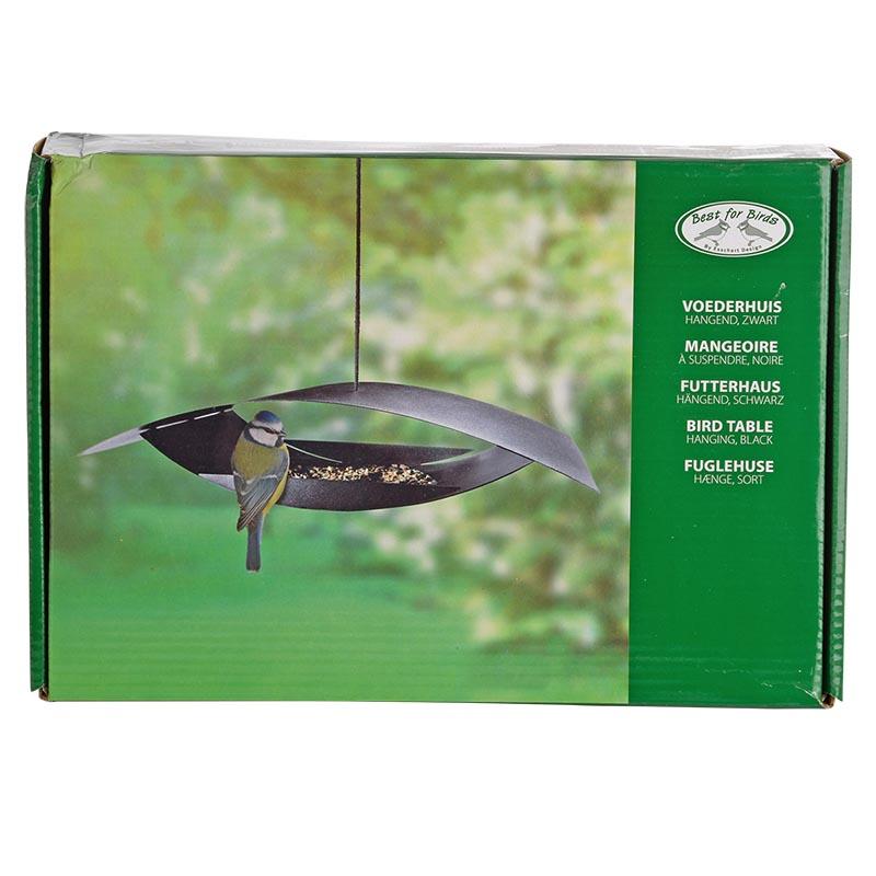Modern fém madáretető, S