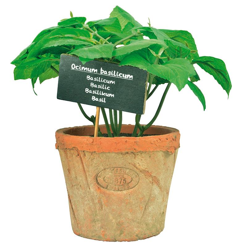 Nagy bazsalikom műnövény dekoráció