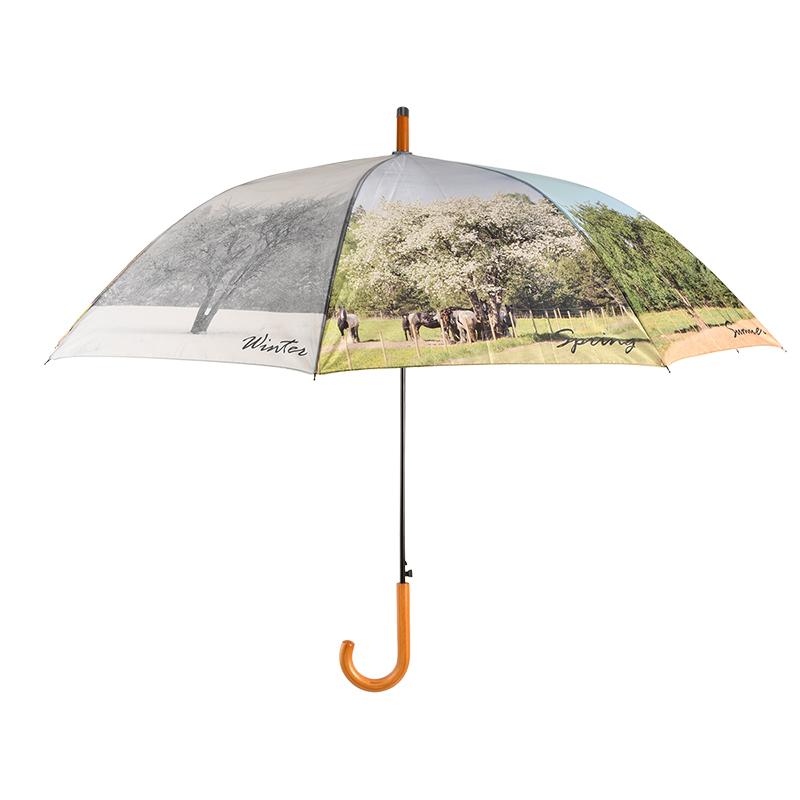Négy évszak esernyő