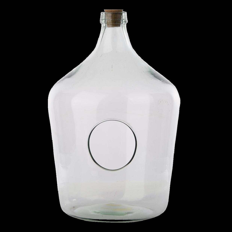Nyitott florárium, 10 literes