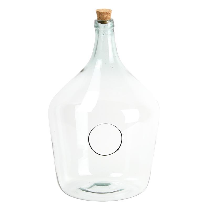 Nyitott florárium, 15 literes