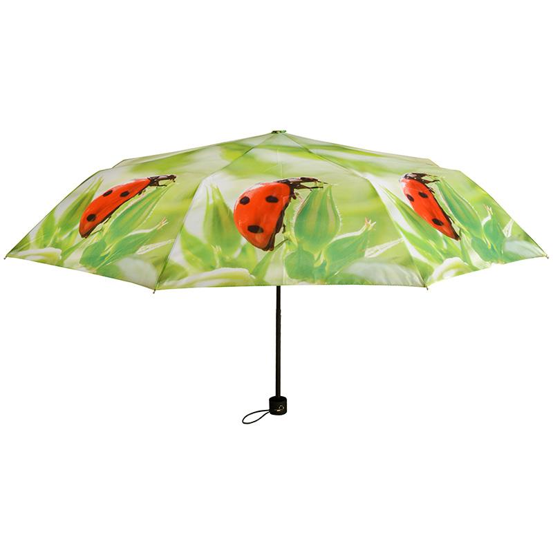 Összecsukható katicás esernyő