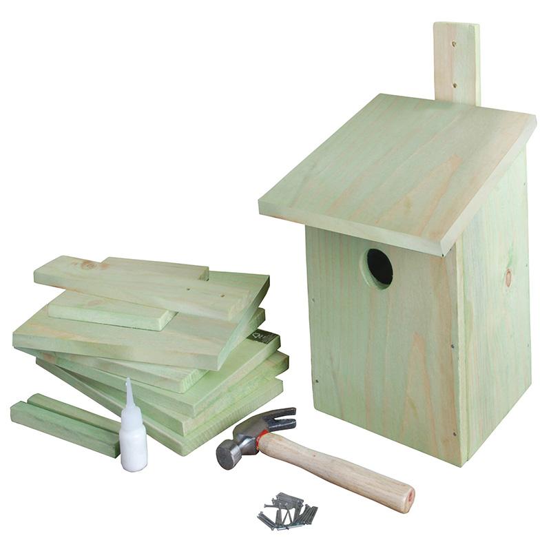 Összeszerelhető madárház gyerekeknek