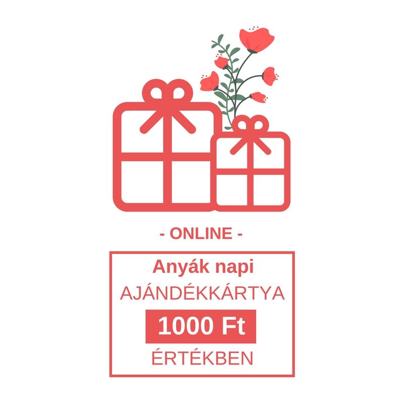 Online Anyák napi ajándékkártya