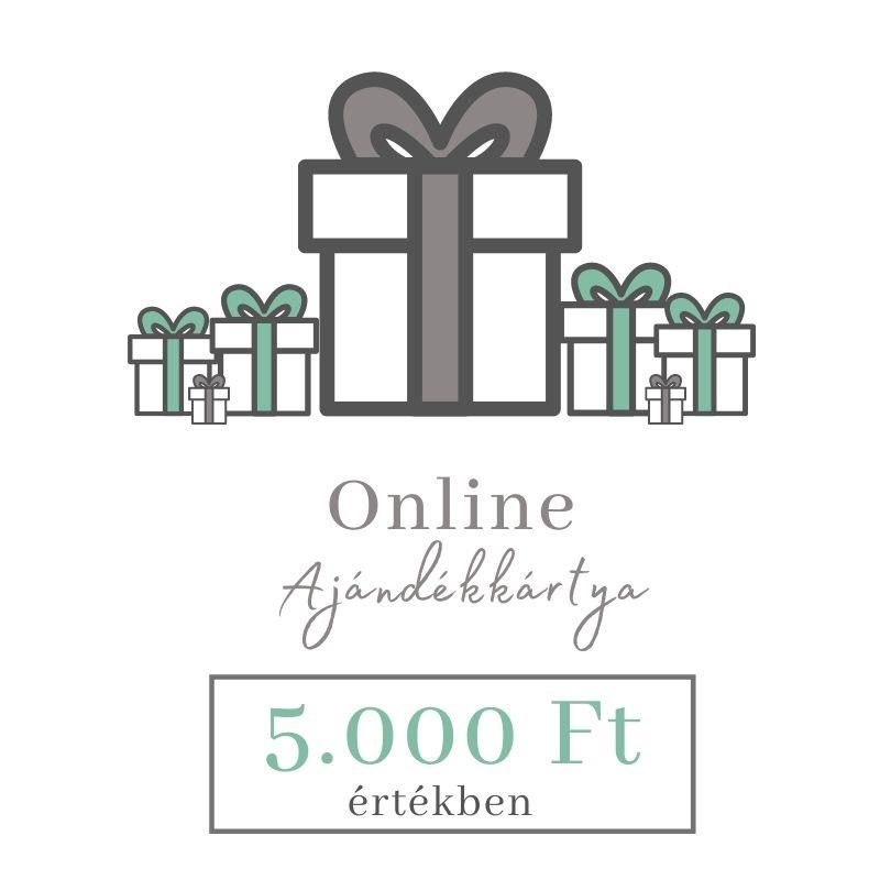Online ajándékkártya