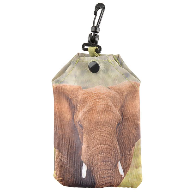 Összehajtható elefántos táska