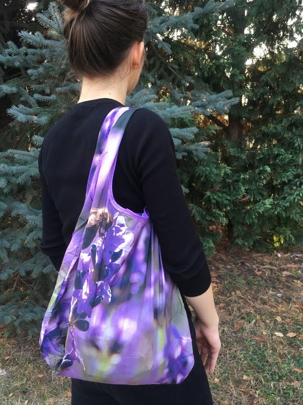Összehajtható levendulás táska