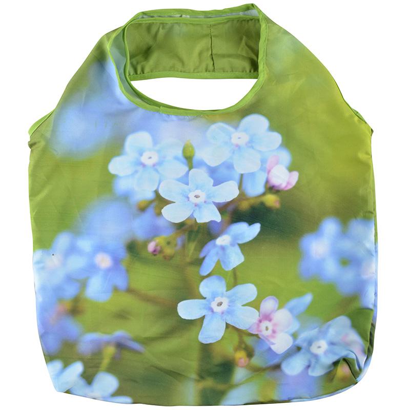 Összehajtható nefelejcs táska
