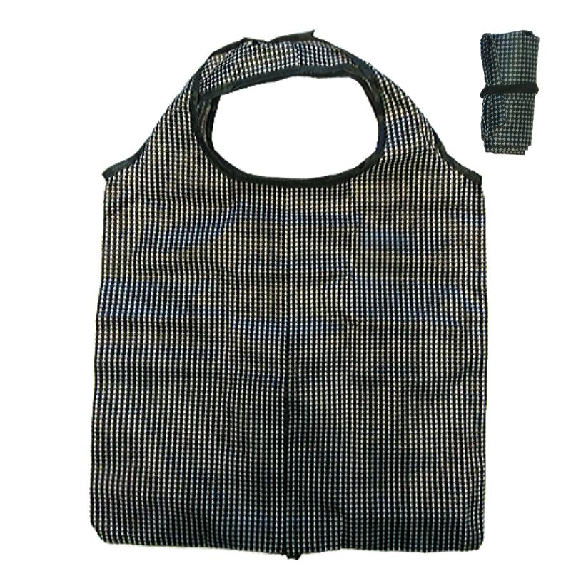 Összehajtható pepita mintás táska